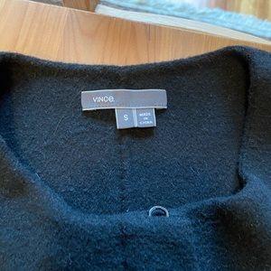 VINCE-Women's Leather & Wool Jacket